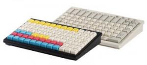 PrehKeyTec MCI 84, num., MSR, Lock, USB, bílá