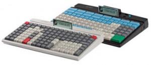 PrehKeyTec MCI 128, num., MSR, USB, PS/2, bílá