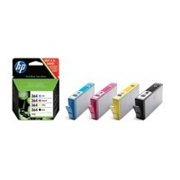 Set Ink HP 364 4pack CMYK