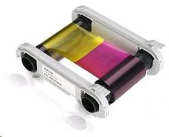 Barevná tisková páska YMCKO-K pro Evolis Primacy, 200 karet