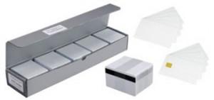 Evolis PVC-U plastové karty, 30mil, 500 ks