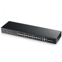 ZyXEL 24xGb 4xRJ45/SFP L2-4 IPv6 sw.GS1920-24