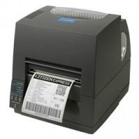 Citizen CL-S631, DT/TT, 300 dpi, odřezávač, ZPL, Datamax, multi-IF (Wi-Fi), černá