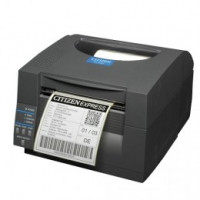 Citizen CL-S521 - Direct Thermal, 8 dots/mm (203 dpi), ZPL, Datamax, multi-IF (Ethernet), black