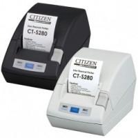 Citizen CT-S281L, direct thermal, 203 dpi, RS232, řezačka, černá
