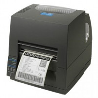 Citizen CL-S621 - Thermal Transfer, 8 dots/mm (203 dpi), řezačka, ZPL, Datamax, multi-IF (Ethernet, Premium), black