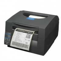 Citizen CL-S521 - Direct Thermal, 8 dots/mm (203 dpi), odlepovač, ZPL, Datamax, Dual-IF, black