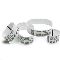 Zebra Z-Band UltraSoft - Polypropylene vinyl lepivý wristbands - bílá - 25.4 x 152.4 mm 1800 kusy (6 role x 300)