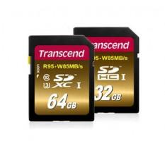 Transcend SDXC karta 64GB Class10, UHS-I U3 (čtení/zápis: 95/85MB/s)