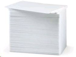 Zebra Premier - Karta PVC - 40 mil bílá - CR-80 Card (85.6 x 54 mm) 350 karet