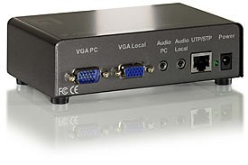 LevelOne Audio/Video Transmitter 1-Port VGA, Cat.5