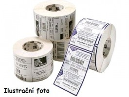 Zebra štítky Z-Select 2000D, 57x19mm, 12x3315ks