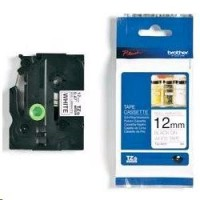 Brother páska TZ-N231 - 12mm x 8m - bílá / černý text - nelaminovaná - originální (TZE-N231)