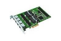Intel PRO/1000PT Quadro port Server adaptér Gb Cat-5 cabling, PCIe4x (EXPI9404PT), Low p.