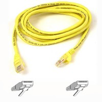 Belkin kabel PATCH UTP CAT5e 50cm žlutý, bulk Snagless