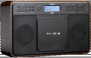 Lenco DAR-040 Rádio, vlašský ořech