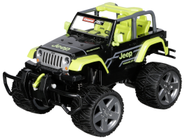 Carrera RC Jeep Wrangler Rubicon, 2,4 GHz 1:16, Zelená