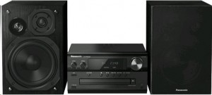 Panasonic SC-PMX84-EG-K DAB+ BT CD 60W 2.0