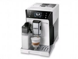 DeLonghi PRIMADONNA ECAM 556.55W bílá/stříbrná