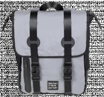 Batoh L matný šedý