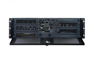 Chieftec IPC case 3U series UNC-310RS-B, 400W PSU (PSF-400A)