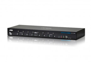 ATEN KVM 8/1 CS-1788 USB DVI Dual Link KVM Switch