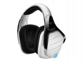 Logitech G933 Artemis Spectrum™ Wireless 7.1 Surround herní sluchátka, bílá