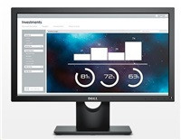 "Dell MT TN LCD WLED E2016H - 19,5"" , TN panel, 1 600 × 900, 250 cd/m, DP, VGA"