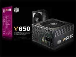 CoolerMaster zdroj Vanquard series 650W PFC v2.31, 12cm fan, 80 Plus Gold, modular