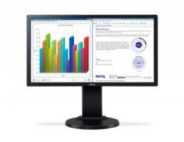 """BENQ MT LCD LED FF LBL 21"""" BL2205PT DVI/DP 1920x1080, 5ms, 250cd/m2, 12Mil:1 ,repro, silver, pivot,DVI kabel"""