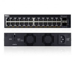Dell Networking X1026P Smart Web Managed Switch 24x 1GbE PoE (up to 12x PoE+) and 2x 1GbE SFP ports/X1026X1026P Limited