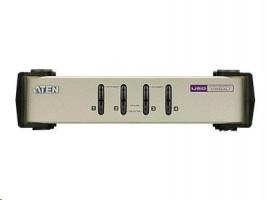 ATEN CubiQ CS84U - Switch KVM - PS/2, USB - 4 x KVM porty - 1 místní uživatel - desktop