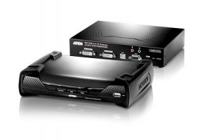 ATEN KE6940 DVI Dual view KVM Over IP Extender