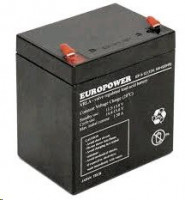 Europower rechargeable battery 12 V/5 Ah T1 (4,75mm)