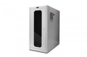 DIGITUS case pro průmysl. PC, IP54, 65x30x60cm, šedý, skl.dveře, vent.
