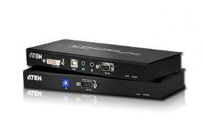 ATEN KVM extender CE-600 USB , DVI dual link max. 60 metrů