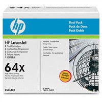 HP Toner Cart pro LJ 4015 series, High Capacity, 2-pack, CC364XD