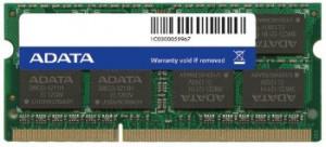 ADATA 8GB DDR3 1600MHz CL11 SODIMM, Retail