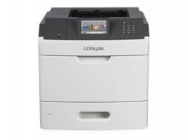 Lexmark MS810de, A4, 1200x1200dpi, 52ppm, duplex, LAN