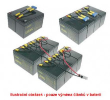 Baterie Avacom RBC43 bateriový kit pro renovaci (pouze akumulátory, 8ks) - neoriginální