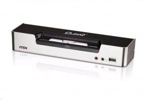 ATEN CS1642A 2-port DVI Dual View USB 2.0 KVMP Switch, 2.1 Surround Sound