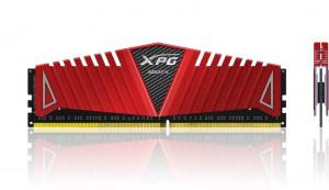 ADATA XPG Z1 2x4GB 2800MHz DRR4 CL17 1.2V DIMM červený chladič