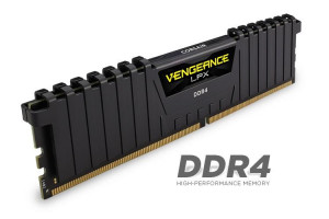 Corsair Vengeance LPX 64GB (Kit 8x8GB) 2400MHz DDR4 CL14 DIMM 1.2V, černý