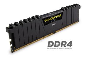 Corsair Vengeance LPX 64GB (Kit 8x8GB) 2400MHz DDR4 CL14 DIMM 1.2V, černý