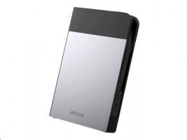 BUFFALO MiniStation Extreme - Pevný disk - 1 TB - externí (přenosný) - USB 3.0 - stříbrná
