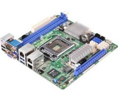 ASRock E3C224D2I, s.1150, Intel C224, 2xDDR3, 4xSATA3 6.0Gb/s, RAID,5xUSB 2.0, 4xUSB 3.0, GLAN,/D-Sub) mITX