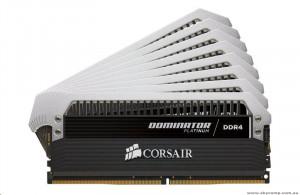 Corsair - RAM pamět - DDR4 - 128 GB : 8 x 16 GB - DIMM 288-pin