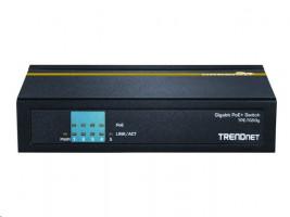 TRENDnet TPE TG50g switch, 4x 10/100/1000 (PoE+), 1x 10/100/1000, desktopový