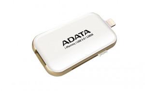 ADATA i-Memory flash disk UE710 128GB pro iPhone,iPad,iPod