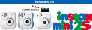 Fujifilm INSTAX MINI 25 INSTANT CAMERA - Pink